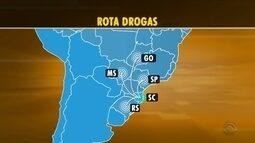 Megaoperação prende mais de 30 suspeitos de envolvimento com tráfico de drogas sintéticas