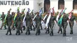 Militares realizam cerimônias no MA em comemoração ao Dia do Soldado