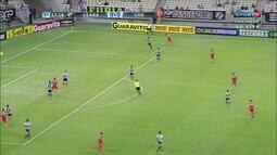 Confira os gols do empate entre Ceará 1 X 1 CRB, pela 21ª rodada da Série B