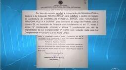 Indeferido o pedido de candidatura de Warmillon Braga à prefeitura de Pirapora