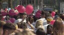 Caminhada contra o câncer é realizada em Santos