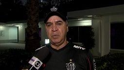"""Técnico do Galo, Marcelo Oliveira diz: """"Tem que estar muito preparado para cada jogo"""""""