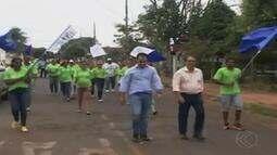Candidato a prefeito em Ituiutaba cumpre agenda nesta segunda-feira (29)