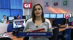 Confira os destaques do G1 no TEM Notícias de Sorocaba e Jundiaí desta 3ª feira