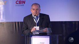 Fórum Agenda Bahia discute a crise econômica na sede da Fieb, em Salvador