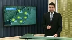 Quinta-feira será de tempo firme na região Noroeste