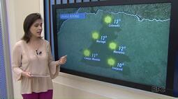 Veja como fica o tempo nesta quinta-feira em Maringá e região