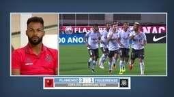 Fernandinho fala sobre duelo com o Figueirense e provocação de Rafael Silva