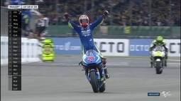 Maverick Viñales vence a etapa de Silverstone da MotoGP