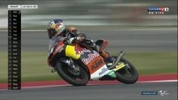 Brad Binder vence o Grande Prêmio de San Marino da Moto 3