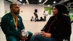 Ponto de Encontro: Laís Souza conversa com o judoca Antônio Tenório