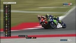 Dani Pedrosa ultrapassa Valentino Rossi e assume a liderança do GP de San Marino da MotoGP