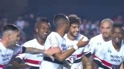 O gol de São Paulo 1 x 0 Cruzeiro pela 25ª rodada do Campeonato Brasileiro