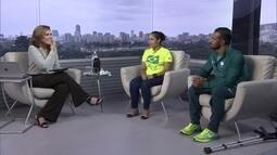 Atletas paralímpicos comentam evolução dos jogos