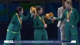 Brasil conquista medalhas no tênis de mesa, vôlei sentado e atletismo na Paralimpíada