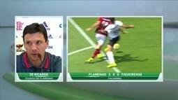 """Zé Ricardo celebra vitória, mas lembra chances perdidas: """"Ainda bem que não fizeram falta"""""""