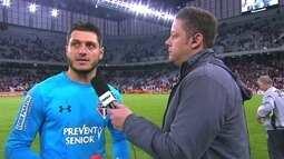 Denis revela que escorregou no gol do Atlético-PR