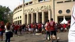 Flamengo e Santos vencem na rodada dupla do Pacaembu