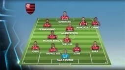 Flamengo pode enfrentar o Palestino com time misto pela Copa Sul-Americano