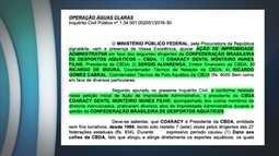 MP pede afastamento de representantes da Confederação Brasileira de Despostos Aquáticos