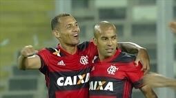 Flamengo vence o Palestino no Chile, e abre boa vantagem na Copa Sul-Americana