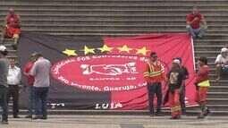 Protesto dos estivadores termina em confusão no Porto de Santos