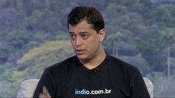 RJTV entrevista Indio da Costa, candidato a prefeito do Rio