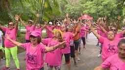 No AM, caminhada encerra Semana de Conscientização sobre Alzheimer