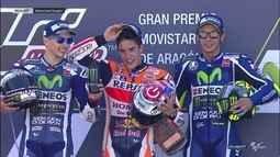 Marc Márquez vence a etapa de Aragão da MotoGP, e Rubens Barrichello vence na Stock Car