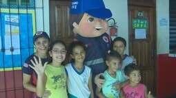 Samu realiza ação de conscientização contra trope em escola do Centro de Macapá