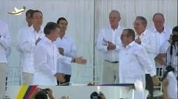 Enquanto governo e Farc assinam acordo, Mundial de Futsal da Colômbia chega na fase final