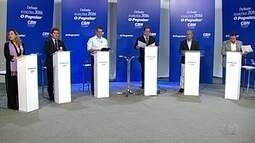 O Popular e CBN promovem debate entre candidatos à Prefeitura de Goiânia