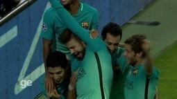 Os gols de Borussia Monchengladbach 1 x 2 Barcelona pela Liga dos Campeões