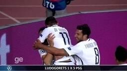 Confira os gols da 2ª rodada da Liga dos Campeões da Europa
