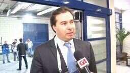 Rodrigo Maia fala sobre expectativa para o debate do Rio