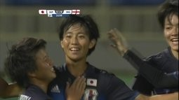 Os gols de Japão 3 x 0 Inglaterra pela Copa do Mundo de futebol feminino sub-17