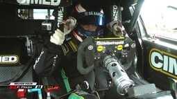 No último momento, Felipe Fraga faz melhor tempo e tira pole position de Ricardo Maurício
