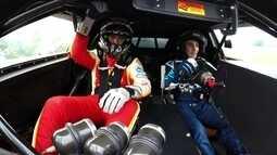 Arthur Zanetti tem dia de piloto na Stock Car