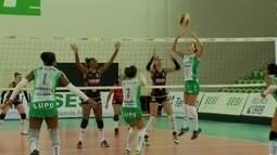 Brasília vence o 2º jogo contra o Sesi pelo amistoso de vôlei feminino