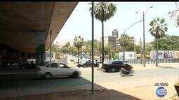 Trânsito na descida da ponte da Frei Serafim sofre mudanças