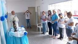 Imagem de Nossa Senhora dos Remédios visita unidades de saúde em MS