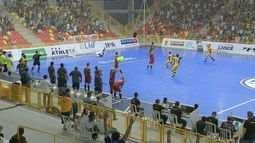 Sorocaba atropela o Orlândia no 1º jogo das quartas de final da Liga Nacional de Futsal