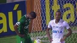Melhores momentos de Chapecoense 0 x 1 Santos pela 32ª rodada do Campeonato Brasileiro