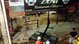 Carro invade bar em Ceilândia, no DF, e mata garçom