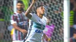 Série A: Coritiba arranca empate contra o Fluminense, no Couto Pereira