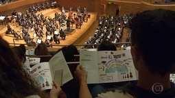 Alunos de escolas públicas e privadas participam de concertos didáticos da Filarmônica