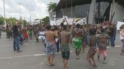 Em Roraima, indígenas realizam protesto contra a PEC 1907