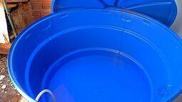 Armazenamento de água gera risco de doença em Tangará da Serra