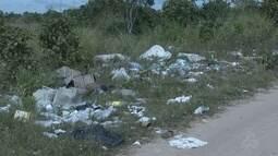 Moradores do Cantá reclamam da falta de coleta de lixo