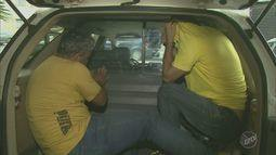 Vinte pessoas foram presas após uma operação contra roubo de máquinas agrícolas na região